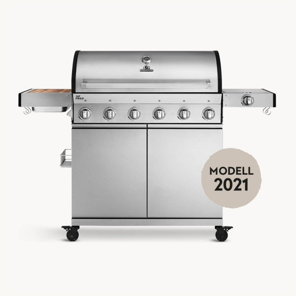 Fat FRED — 6-Brenner Gasgrill Deluxe
